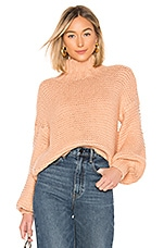 House of Harlow 1960 x REVOLVE Reverse Stitch Sweater in Apricot