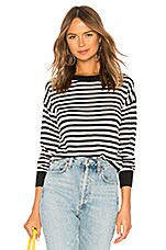 House of Harlow 1960 x REVOLVE Britt Sweater in Black & White Stripe