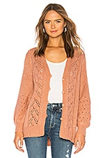 House of Harlow 1960 x REVOLVE Grayson Cardigan in Dusty Rose