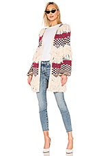 House of Harlow 1960 X REVOLVE Oasis Cardigan in Navy & Red