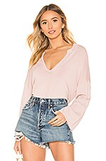 House of Harlow 1960 x REVOLVE Yasmin Sweater in Dusty Rose