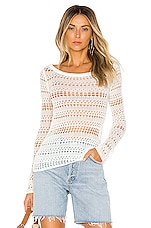 House of Harlow 1960 x REVOLVE Ace Sweater in White
