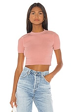 House of Harlow 1960 X REVOLVE Aquila Crop Sweater in Rose
