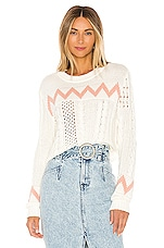 House of Harlow 1960 X REVOLVE Indra Sweater in White