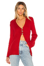 House of Harlow 1960 X REVOLVE Akila Sweater in Brick