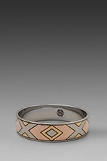 House of Harlow Sancai Bangle in Tri-tone
