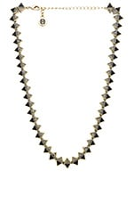 Ascension Collar Necklace in Gold & Black