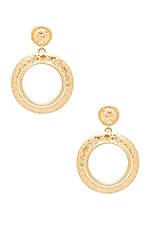 The Titaness Statement Earrings in Gold