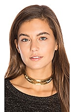 Helicon Choker in Gold