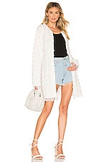 House of Harlow 1960 X REVOLVE Petra Jacket in Ivory