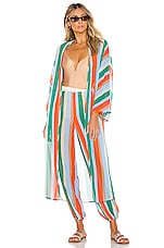 House of Harlow 1960 x REVOLVE Opal Kimono in Miami Stripe