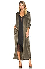House of Harlow 1960 x REVOLVE Cheryl Maxi Coat in Deep Olive