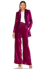 House of Harlow 1960 X REVOLVE Chloe Boyfriend Jacket in Magenta