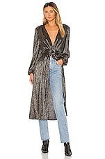 House of Harlow 1960 x REVOLVE Michalina Duster in Noir Multi