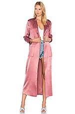 House of Harlow 1960 x REVOLVE Cheryl Maxi Coat in Desert Pink