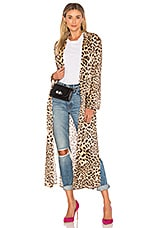 House of Harlow 1960 x REVOLVE Delaney Duster in Leopard