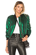 House of Harlow 1960 x REVOLVE Bryce Bomber in Emerald