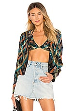 House of Harlow 1960 x REVOLVE Phyllis Jacket in Decco