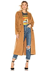 House of Harlow 1960 x REVOLVE Perry Coat in Camel