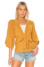 House of Harlow 1960 X REVOLVE Samar Jacket in Golden Yellow