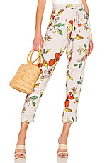 House of Harlow 1960 x REVOLVE Misha Pant in Ivory Floral