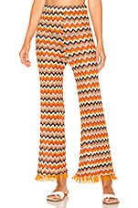 House of Harlow 1960 X REVOLVE Missy Pant in Rusty Chevron