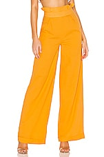 House of Harlow 1960 X REVOLVE Yvonne Pant in Mustard