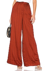 House of Harlow 1960 x REVOLVE Des Pant in Spice Red