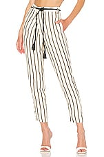 House of Harlow 1960 X REVOLVE Misha Pant in Ivory & Black Stripe