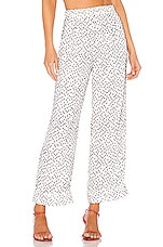 House of Harlow 1960 X REVOLVE Amaya Pant in White & Navy