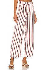 House of Harlow 1960 X REVOLVE Alessia Pant in Red Pop Stripe