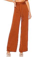 House of Harlow 1960 X REVOLVE Tania Pant in Burnt Orange