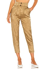 House of Harlow 1960 x REVOLVE Ulla Pant in Bronze