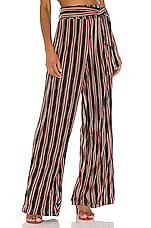 House of Harlow 1960 X REVOLVE Tania Pant in Noir Multi Stripe