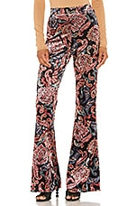 House of Harlow 1960 X REVOLVE Anton Pant in Noir Paisley