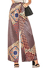 House of Harlow 1960 x REVOLVE Des Pant in Patchwork Pajama Print