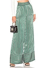 House of Harlow 1960 x REVOLVE Dante Pant in Green Pinstripe