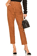 House of Harlow 1960 x REVOLVE Axel Suede Pant in Tobacco