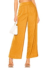 House of Harlow 1960 X REVOLVE Samar Pant in Golden Yellow