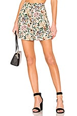 House of Harlow 1960 X REVOLVE Dominic Skirt in Ivory Tapestry Flora