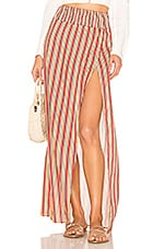 House of Harlow 1960 X REVOLVE Kalid Skirt in Orange Stripe