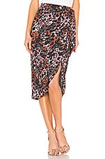 House of Harlow 1960 X REVOLVE Yahaira Skirt in Leopard Multi