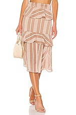 House of Harlow 1960 X REVOLVE Sibel Skirt in Mocha