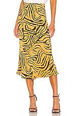 House of Harlow 1960 x REVOLVE Jodi Skirt in Orange Tiger