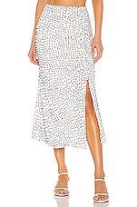 House of Harlow 1960 X REVOLVE Margot Midi Skirt in White & Navy