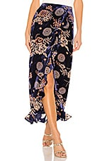 House of Harlow 1960 x REVOLVE Ferris Maxi Skirt in Navy Floral Multi