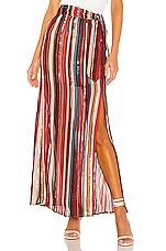 House of Harlow 1960 x REVOLVE Mya Maxi Skirt in Red Multi Stripe