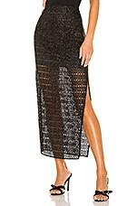 House of Harlow 1960 x REVOLVE Meera Midi Skirt in Noir