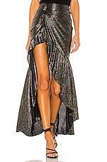 House of Harlow 1960 x REVOLVE Lilou Skirt in Noir Multi