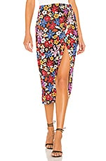House of Harlow 1960 Yahaira Skirt in Floral Multi